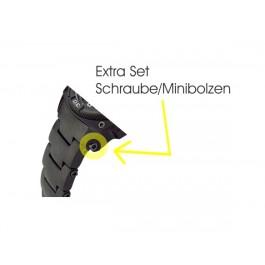 Extra Set Schrauben/Mini-Bolzen für Armband an Uhrenkopf MTM Uhr