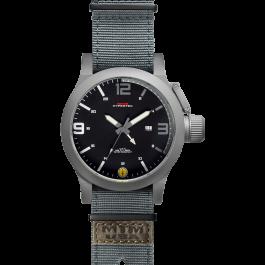 Grey Hyper Gray-White mit grauem Neoprenarmband