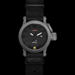 Grey Hyper Black mit schwarzem Neoprenarmband
