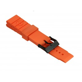 Taucher Kautschuk-Armband Style II Orange