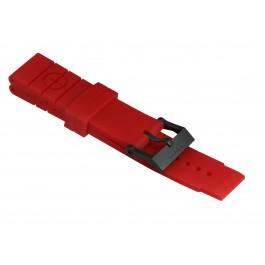 Taucher Kautschuk-Armband Style II Rot
