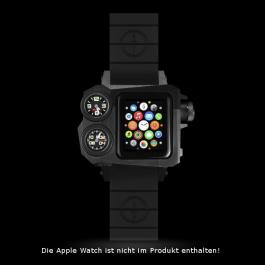 Zusatzgehäuse MTM STATUS A-38. Die Apple Watch ist nicht im Lieferumfang enthalten.
