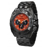 Black Patriot Titanium Orange