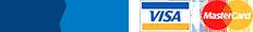 PayPal, Visa & Mastercard