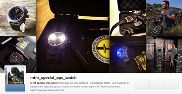 MTM Special Ops Watch bei Instagram