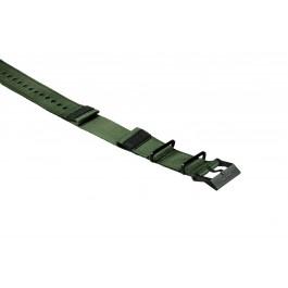 Neoprenarmband Nylon GTX Green Black