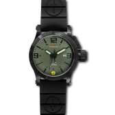 Black Hyper Green-Black mit Taucherarmband