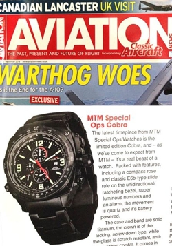 MTM Black Cobra in Aviation Mag