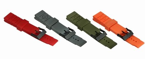 MTM Colour Rubber Straps
